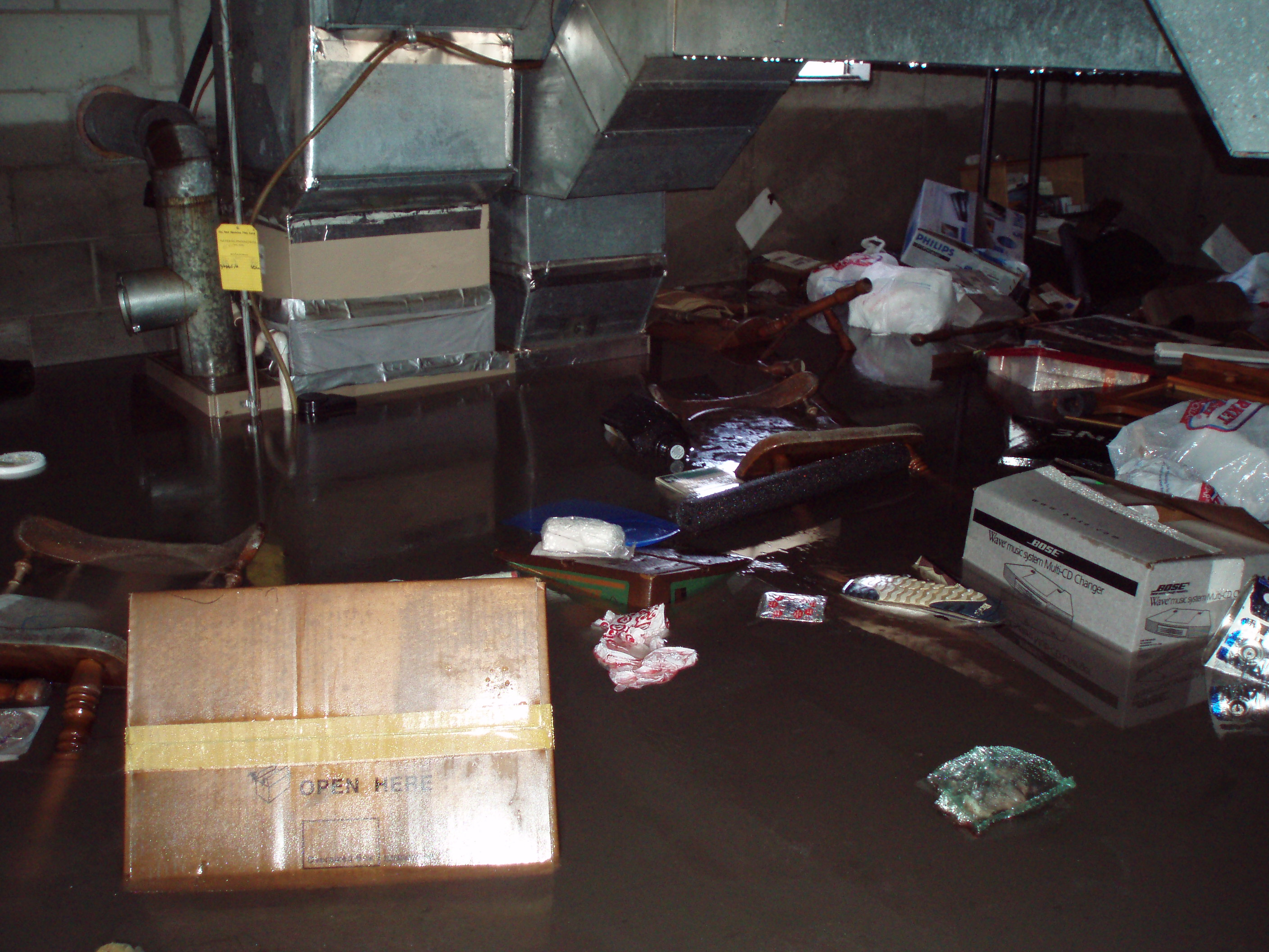 Flood Damage Photo Memphis